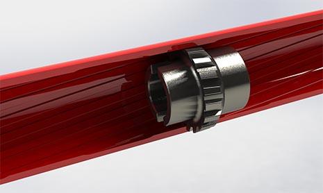 broach tool in barrel